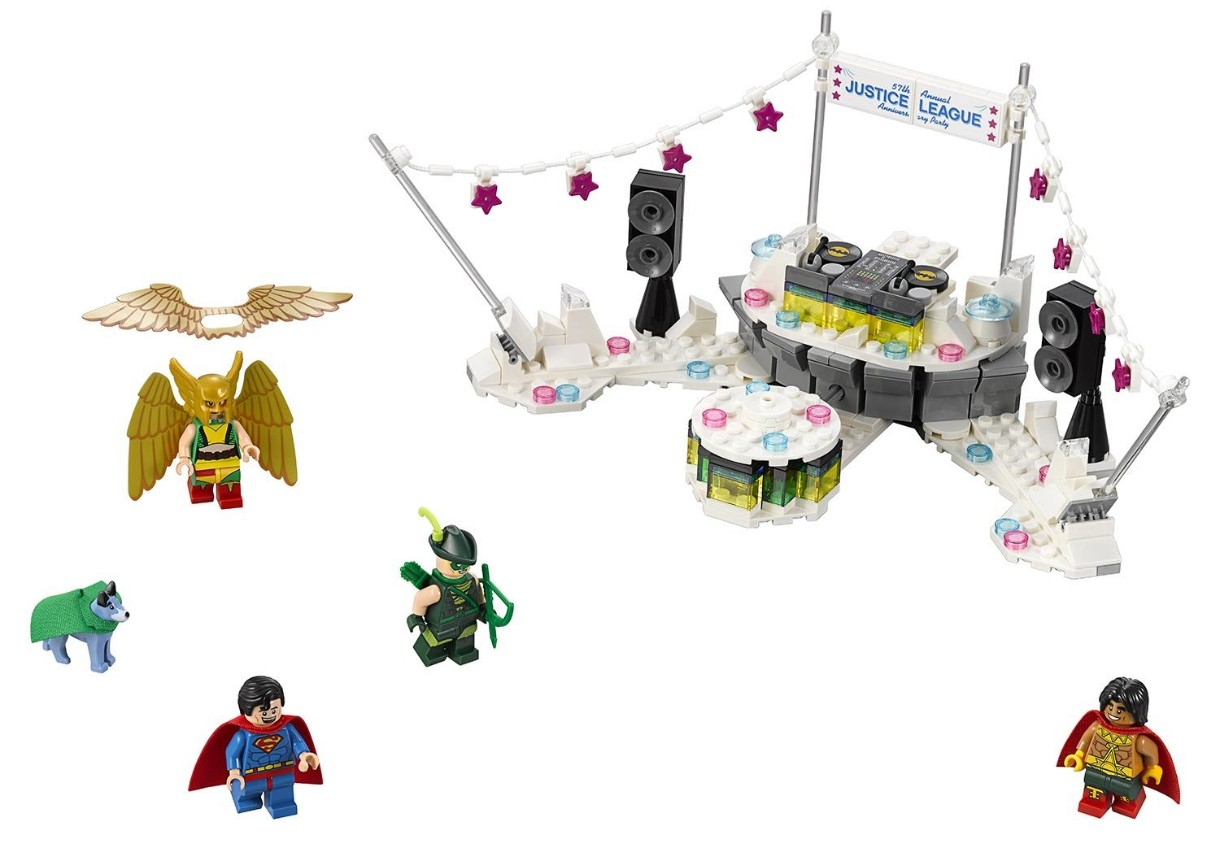Конструктор Lego The Justice League Anniversary Party (70919)
