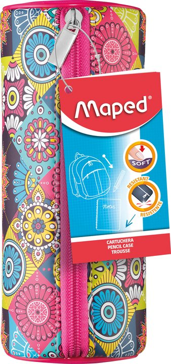 Школьный пенал Maped Girl Mosaic (MP34836)