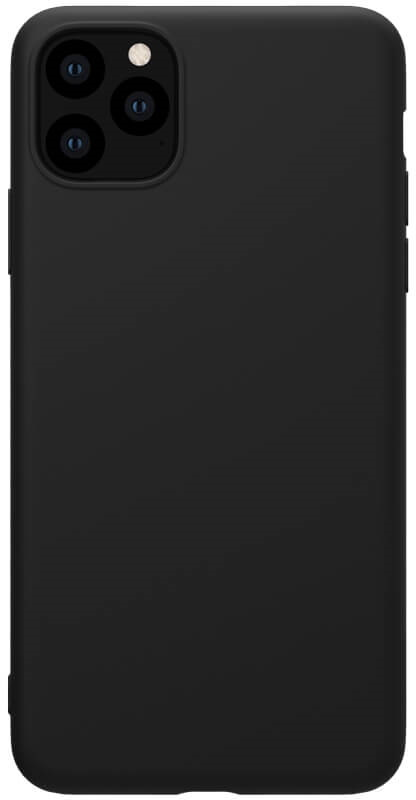 Чехол Nillkin Apple iPhone 11 Pro Max Rubber-Wrapped  Black