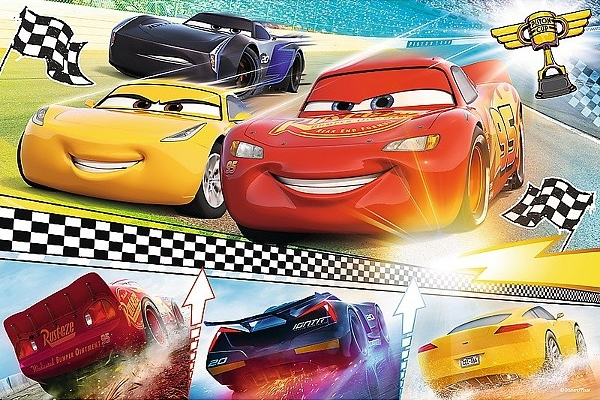 Пазл Trefl Disney Cars 3 Legendary Race (17334)