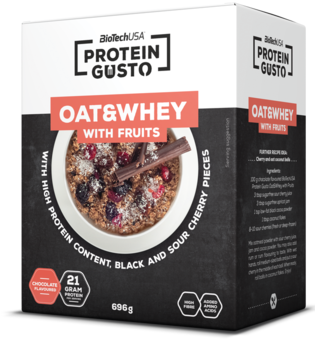 Протеин Biotech Oat & Whey with Fruits 696g