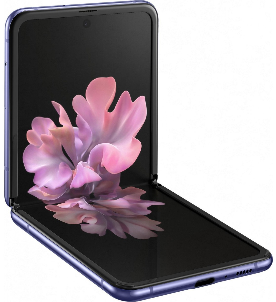 Мобильный телефон Samsung SM-F700 Galaxy Z Flip 8Gb/256Gb Mirror Purple