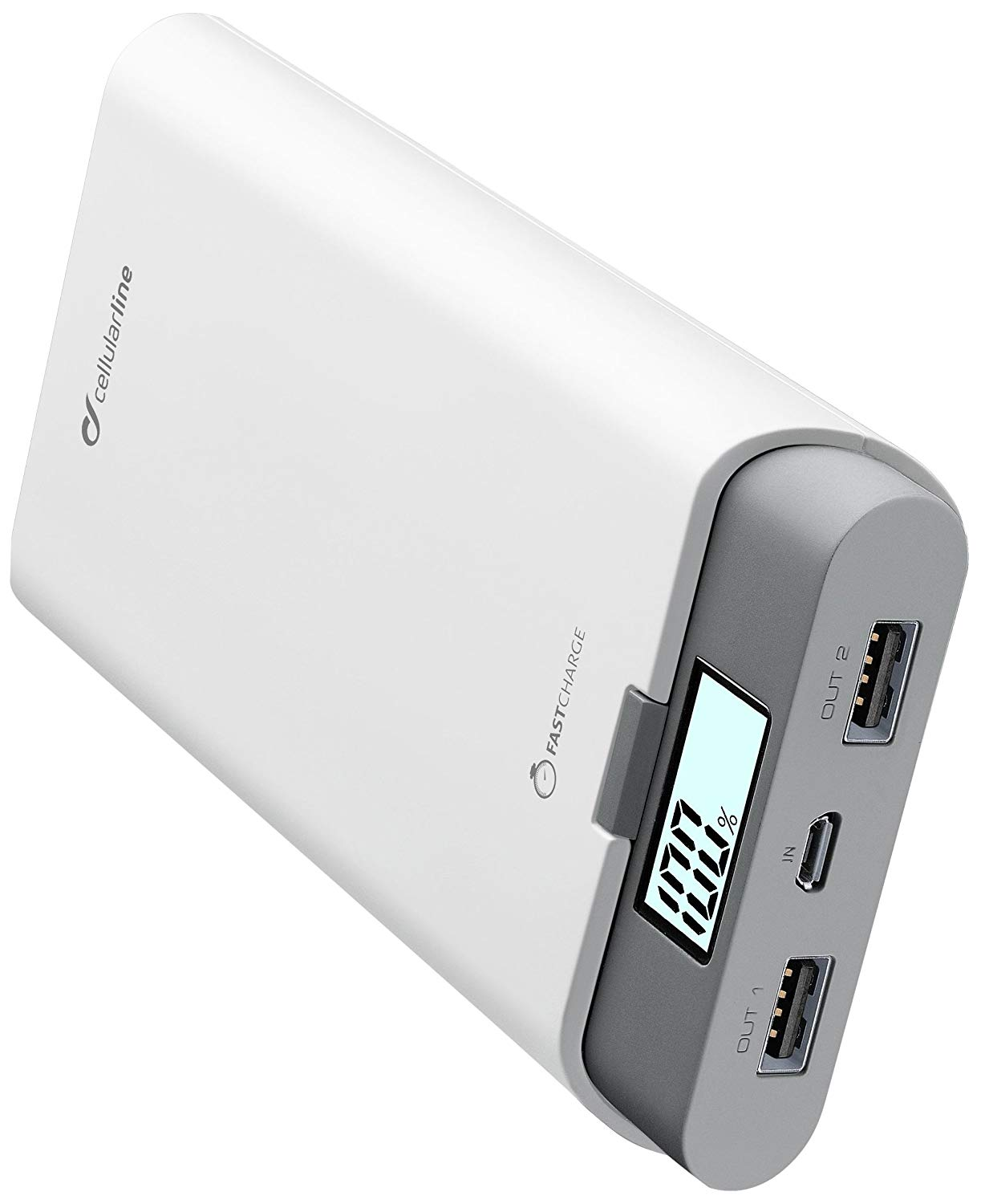 Внешний аккумулятор CellularLine Power Bank 20000mAh USB C White ...